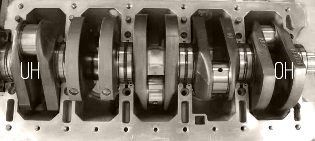 Volvo 5 Cyl Spun Rod Bearings -