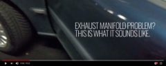 Exhaust Manifold Sound -