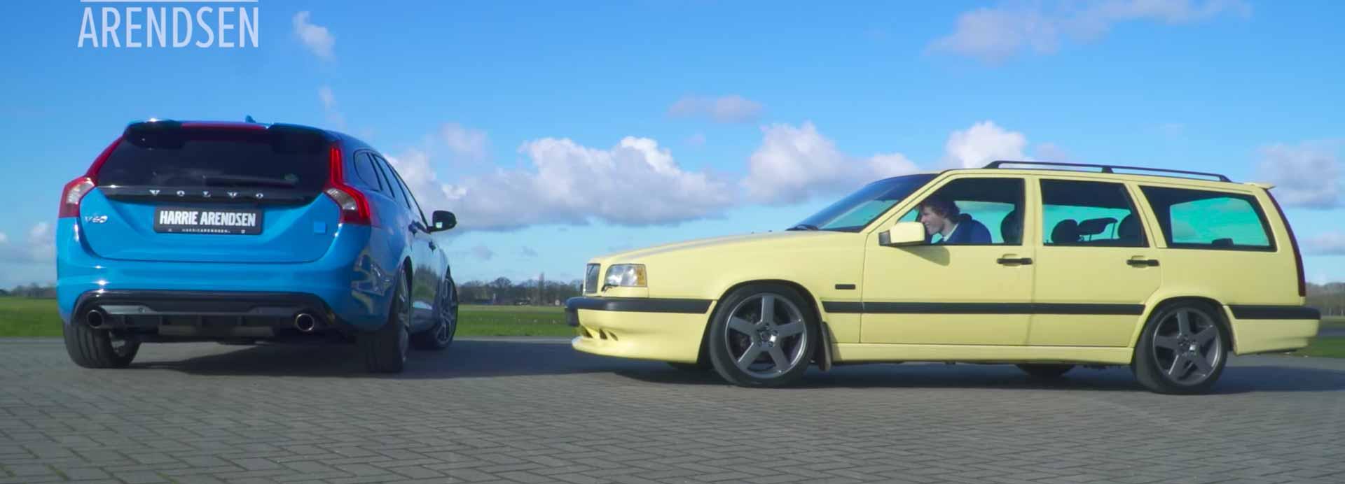 V60 Polestar Vs. Volvo 850 T5r -