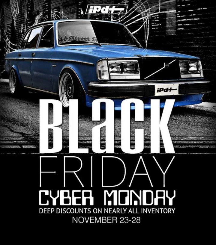 Black Friday Sale 2018 IPD Volvo parts