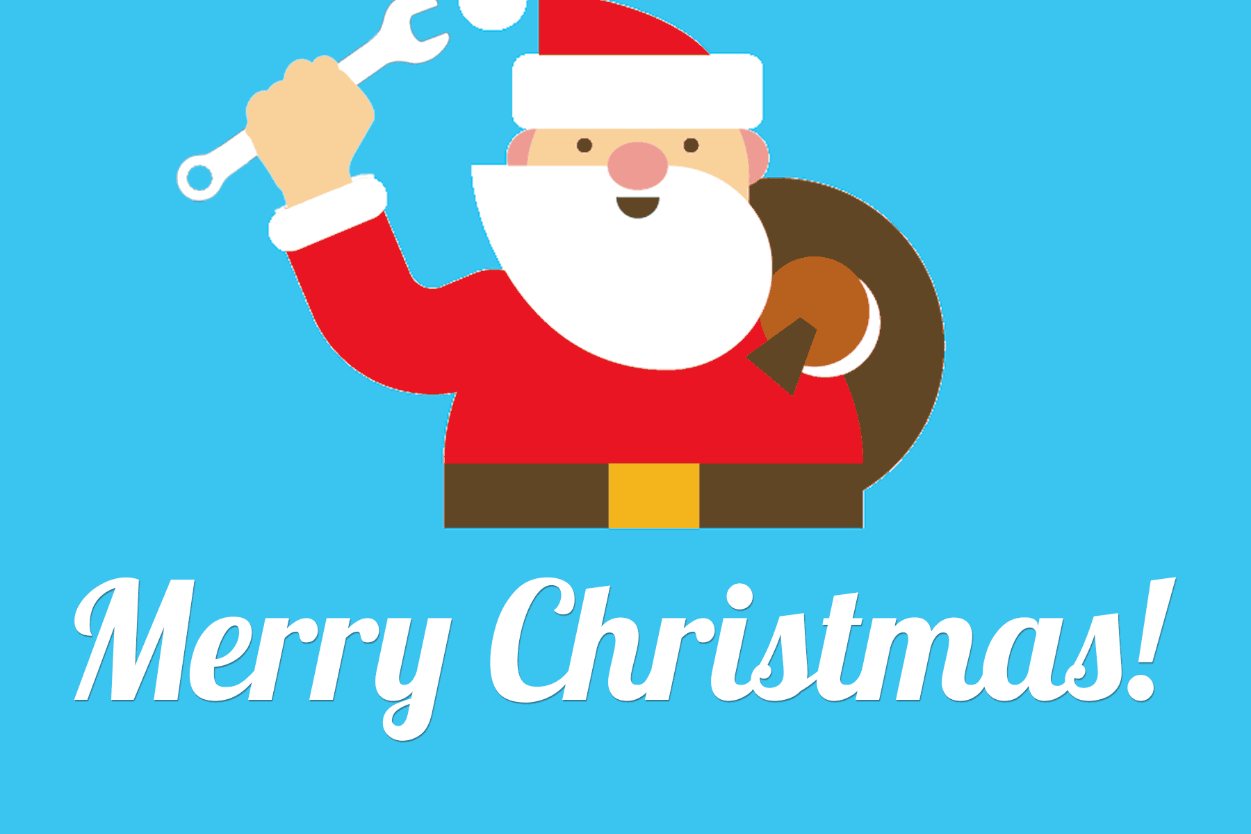 Santa - MVS wishes you a Merry Christmas and Happy Holidays!