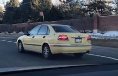 First Generation S40 In Cream Yellow -