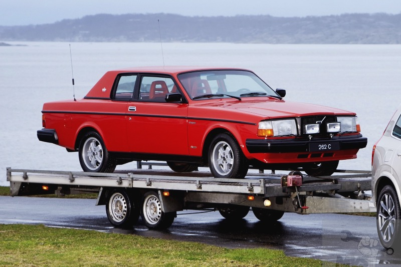 Towing a Volvo Long Distance