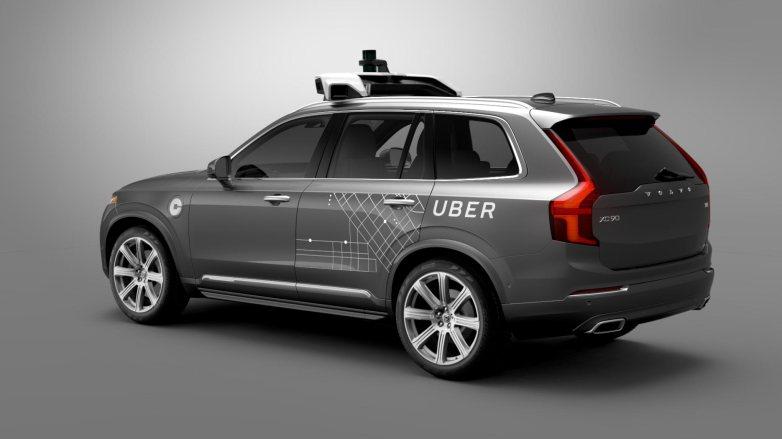 Uber self-driving Volvo XC90