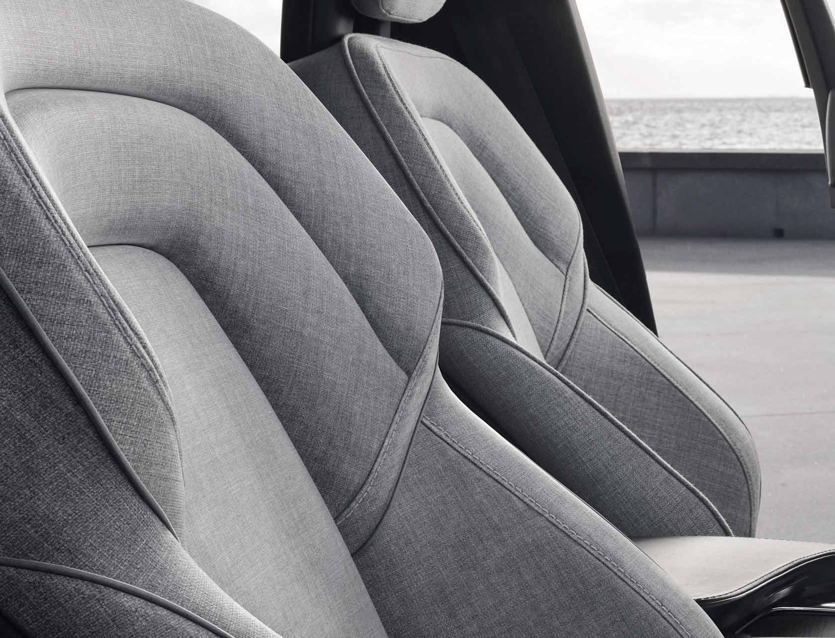 Volvo's new wool seats
