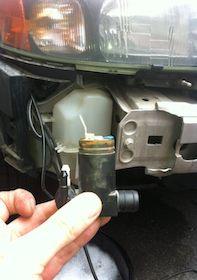 XC70 and V70 WindShield Washer Pump Fix
